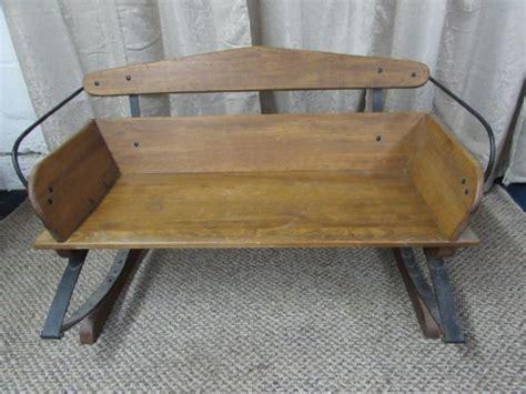 buckboard bench lot detail antique buckboard buggy seat bench