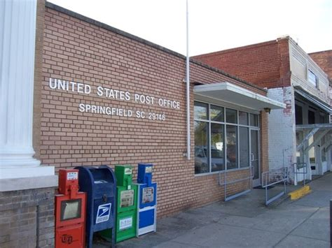 Post Office Springfield by Springfield Sc Usps Post Office Springfield South
