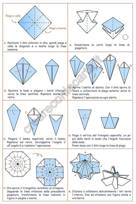 origami istruzioni fiori girasole origami su creare con la carta in modo facile e