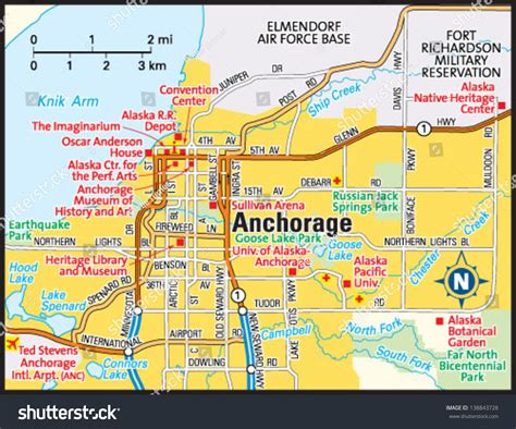 anchorage usa map 29 beautiful anchorage alaska area map afputra