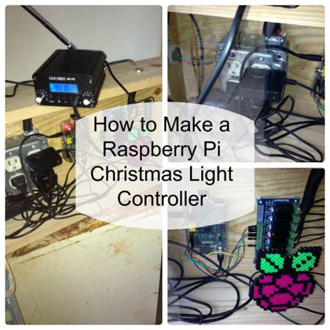 raspberrypi christmas lights controller presentation