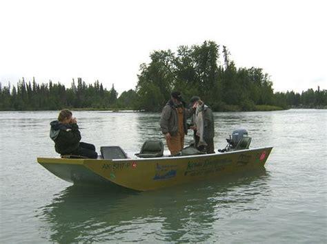 boat launch kasilof river kenai riverfront resort the alaska dream lodging