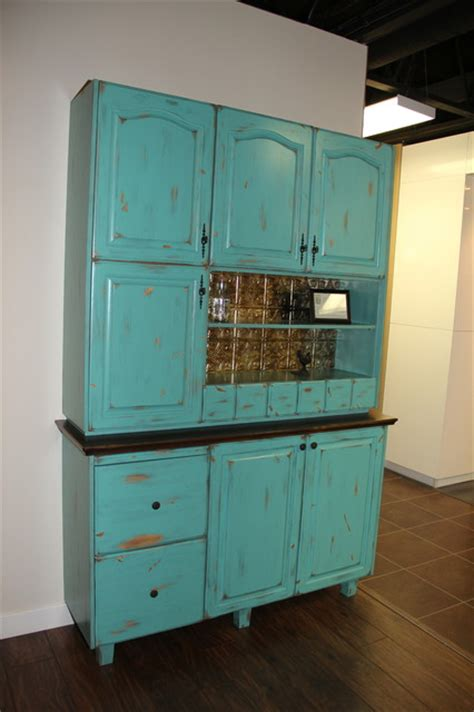 Hoosier Cabinet Reproduction by Hoosier Cabinet Reproduction Farmhouse Kitchen