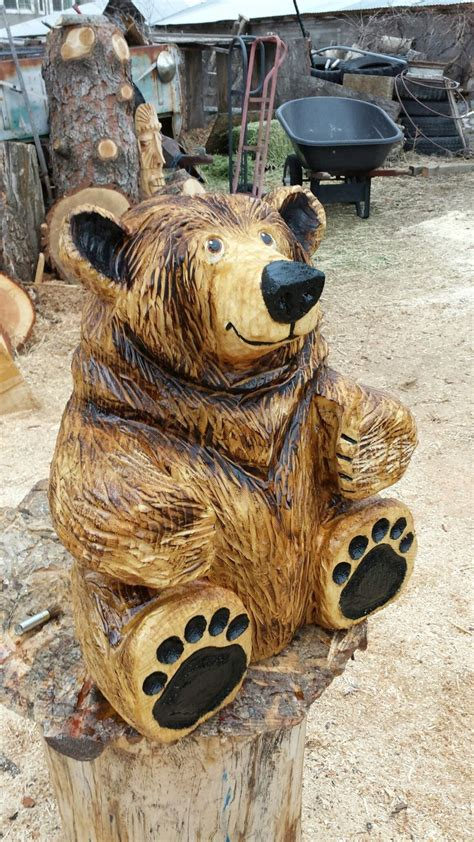 chainsaw carving ideas images  pinterest