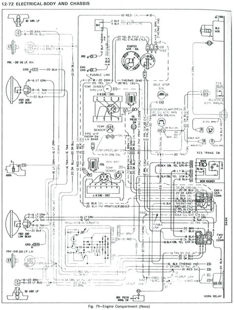 72 chevelle wiring diagram for alternator 72 free engine