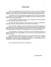 Mga Halimbawa Ng Research Paper Sa 2 by Thesis Pananaliksik Tagalog