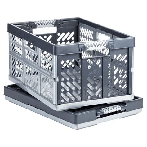 foldable crate folding crate the container store