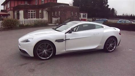 vintage aston martin white white aston martin vanquish pictures to pin on pinterest