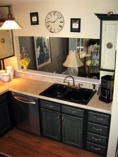 Photos Hgtv Black Kitchen Cabinets Small Kitchen