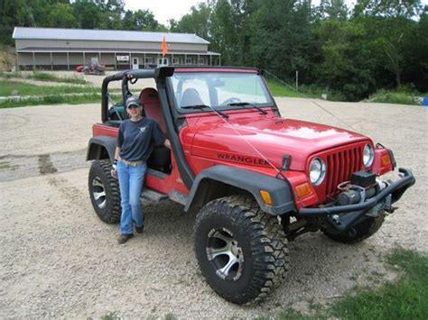 Used 4 0l Jeep Engine For Sale Find Used Jeep Wrangler Tj Sport 4 0l Auto 4 5 Quot Lift