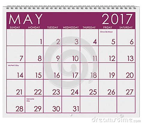 printable calendar 2017 pink 2017 kalendarz miesiąc maj ilustracji obraz 83483786