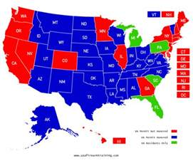 Virginia Concealed Carry Reciprocity Map online concealed carry class for 28 states usa firearm