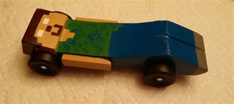 minecraft cars   pinewood derby boys life magazine