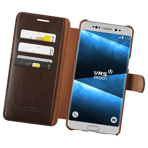Casing Leather Samsung Note 5 Light Brown vrs dandy leather style samsung galaxy note 7 wallet