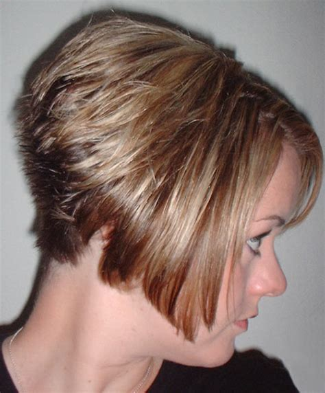 long scene hair back view back view of stacked bob haircut photos hairxstatic