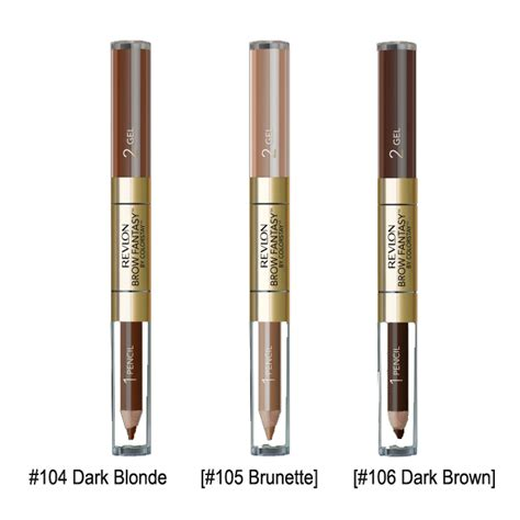 Revlon Eyebrow revlon brow dual ended eyebrow liner 2 colors to