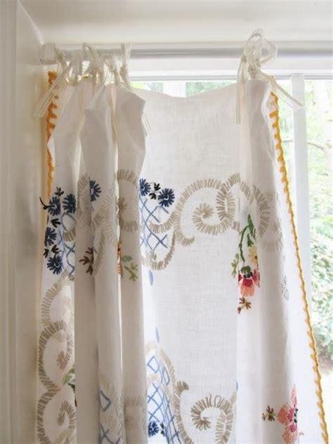 repurpose old curtains 25 best ideas about vintage linen on pinterest
