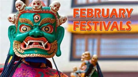 february  guide  festivals    india