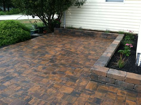 paver patio installation home design