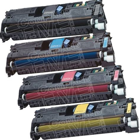 Chip Toner Cartridge Hp C9701a Cyan replacement laser toner cartridge for hewlett packard hp c9700a black c9701a cyan c9703a