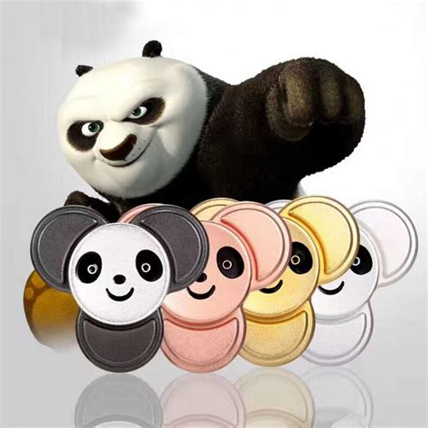 Kungfu Panda Fidget Spinner Metal Spin Spinner Promo gex kungfu panda trio spinner gx0033 gextek
