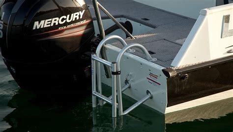 aluminum fishing boat ladder 2018 sd224 fishing ski aluminum deck boat lowe boats