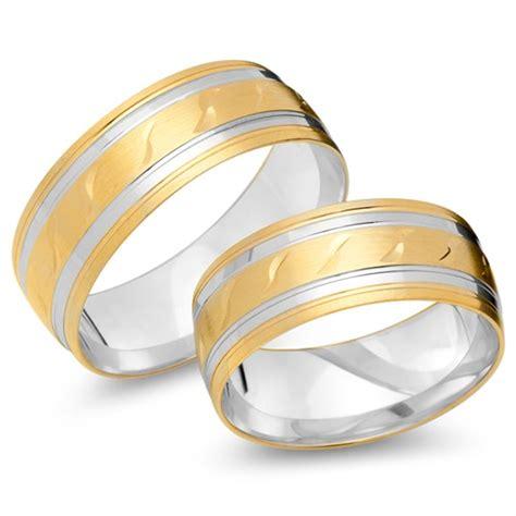 Eheringe 585er Gold by Eheringe 585er Gelb Weissgold Ehe0054 5s