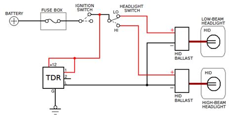 dual hid ballast wiring diagram get free image about