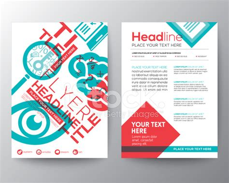 layout flyer education brochure flyer design layout template in a4 size