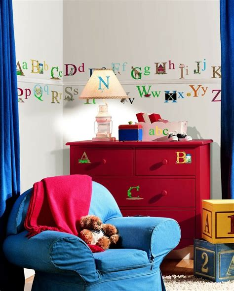 letter wall decals for rooms alphabet 73 big wall stickers abc pictures room decor decal name school letters ebay
