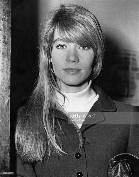 francoise hardy french singer french singer and actress francoise hardy arriving at the