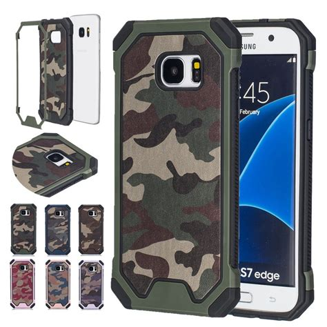 armor army samsung s6 hybrid dual layer army armor camouflage shockproof