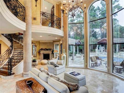 mediterranean style homes interior stairs decor