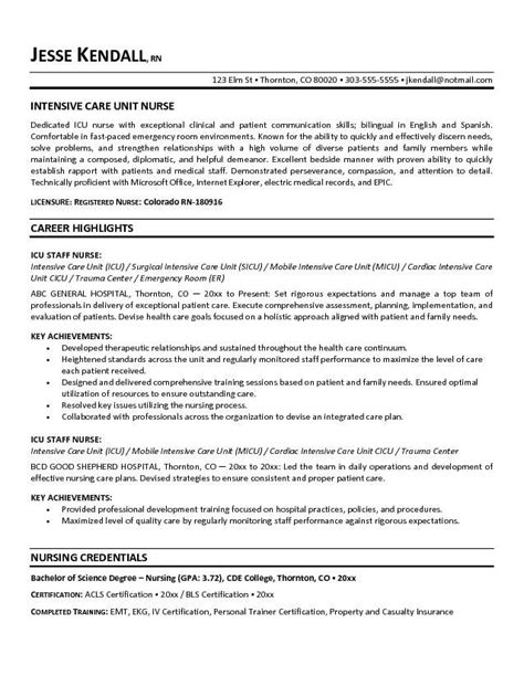 new grad rn resume template best cover letter
