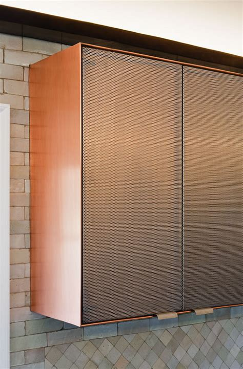 Perforated Cabinet Doors Further Kitchen Rya