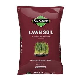 Sta Green Garden Soil by Shop Sta Green 1 5 Cu Ft Lawn Soil At Lowes