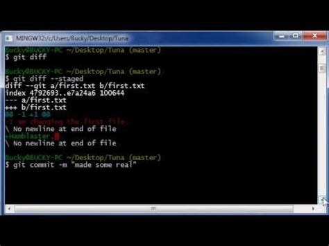 git tutorial on youtube git tutorial 9 comparing the staging area with the
