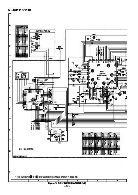 qt layout methods sharp qt cd111h serv man19 technical bulletin view
