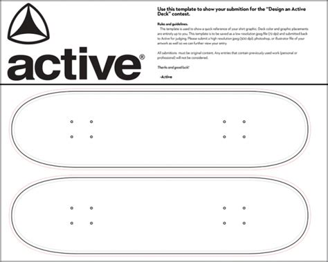 Skateboard Deck Template Www Pixshark Com Images Galleries With A Bite Skateboard Design Template