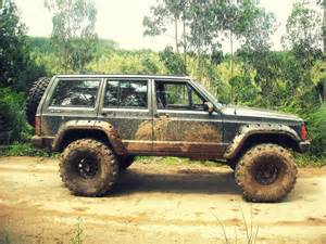 Muddy Jeeps Mud Jeep Xj Blue Jeeps The