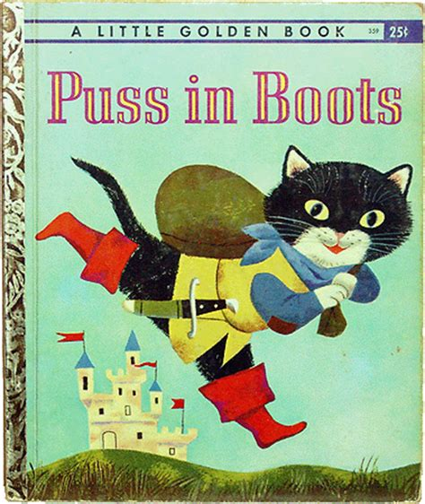 puss in boots book golden books puss in boots book no 359
