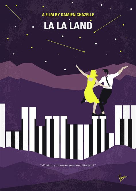 la la land fans no756 my la la land minimal movie poster digital art by