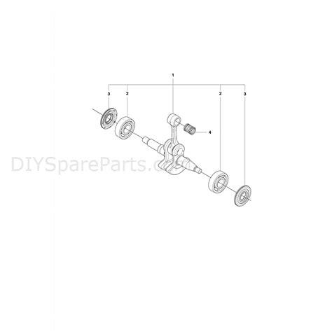 husqvarna 445 chainsaw parts diagram husqvarna 445e chainsaw 2011 parts diagram crank shaft