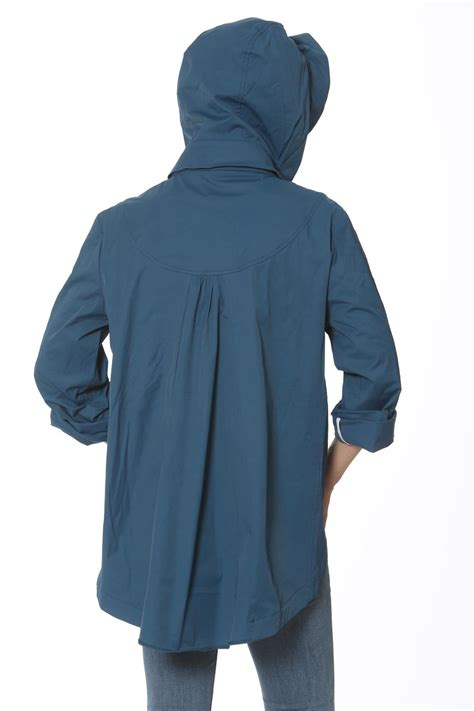 swing raincoat ciao milano hooded swing raincoat from rhode island by