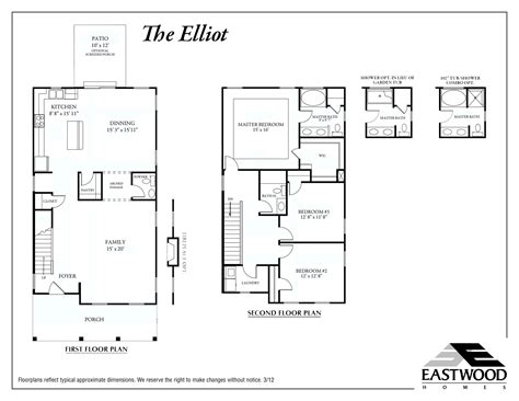 Elliot Detached Garage Eastwood Homes Home Floor Plans Without Garage