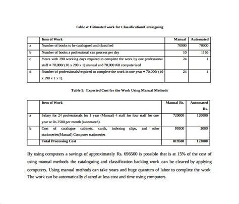 cost benefit analysis template    documents   excel word