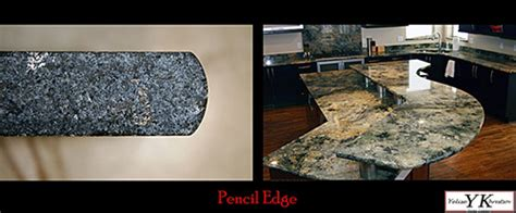 Edge Finishes For Granite Countertops by Yk Center Finishes And Edges Types