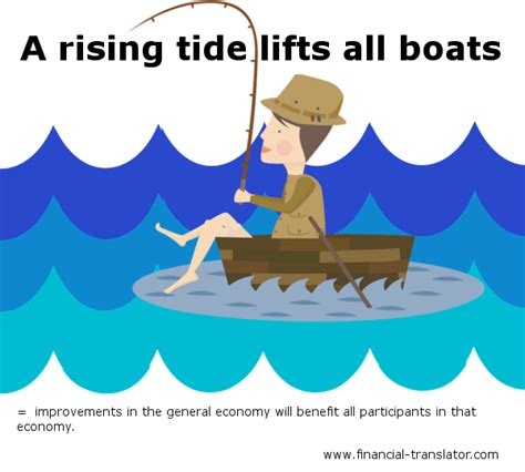 rising tide lifts all boats idiom meaning financial translator financial translator