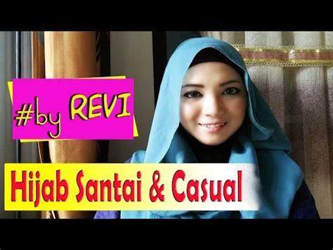 tutorial jilbab pashmina untuk acara santai full download tutorial hijab pashmina rawis kusut simple