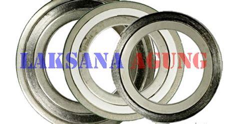 Spiral Wound Gasket Cs Carbon Steel 30 Ansi 150 harga spiral wound gasket laksana agung